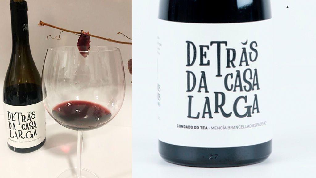 Botella de vino 'Detrás Da Casa Larga'