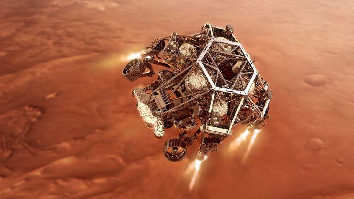Dónde y cuándo ver en directo la llegada de Perseverance a Marte