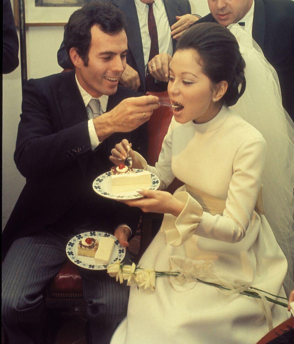 La boda de Isabel Preysler con Julio Iglesias