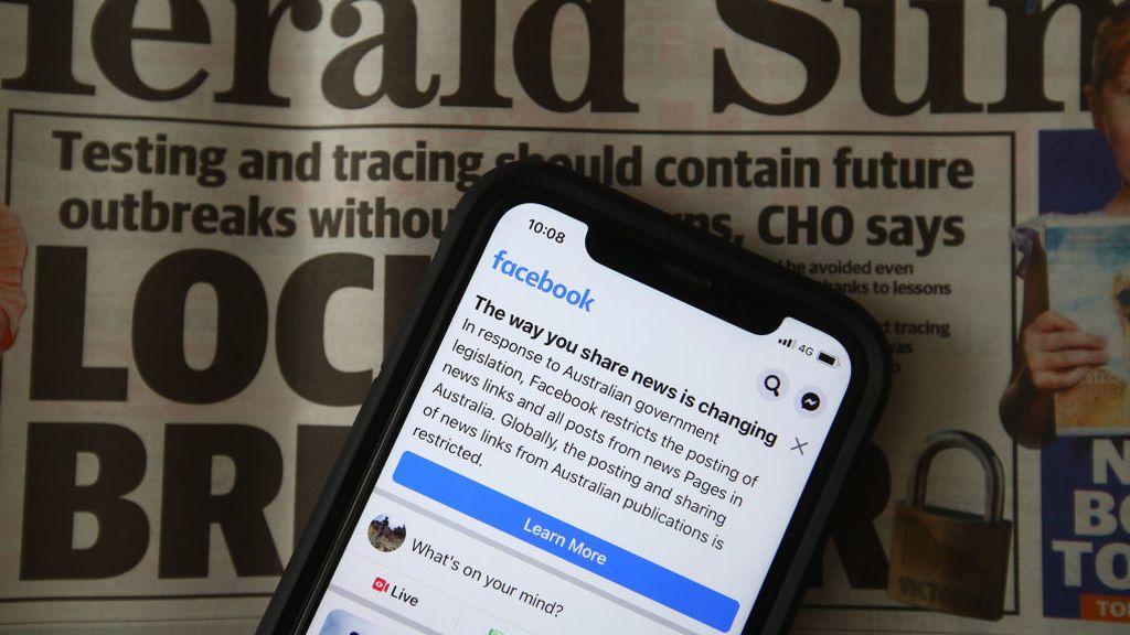 Facebook declara la guerra a Australia y no permite compartir noticias del país