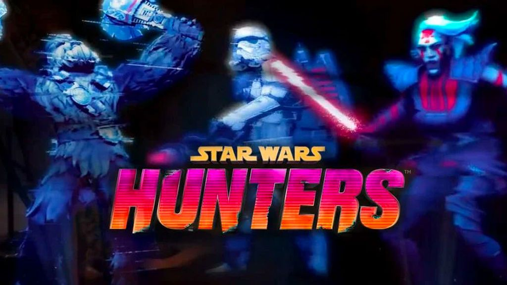 Star wars Hunters para Switch