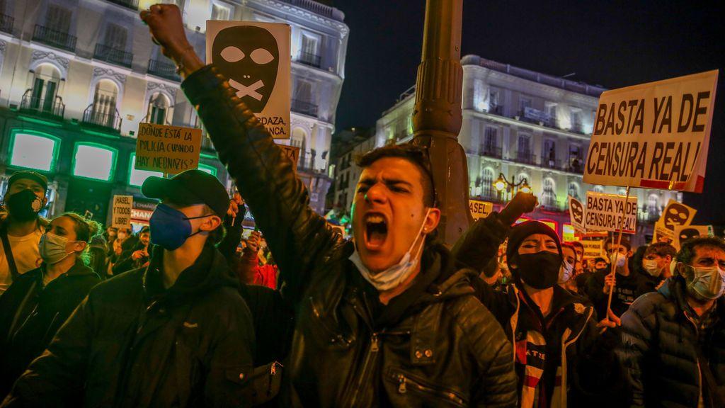 """Calvo critica a Echenique por """"alentar"""" las protestas contra la encarcelación del rapero Hasél"""