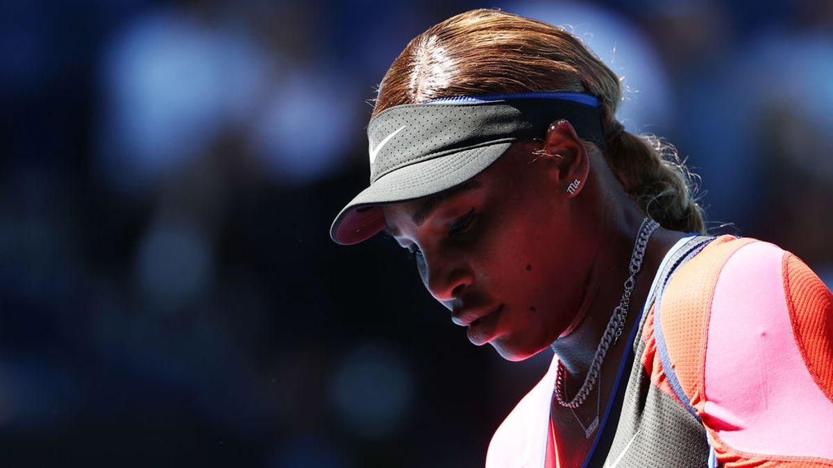 Serena Williams abandona llorando la rueda de prensa del Open de Australia tras caer eliminada en semifinales
