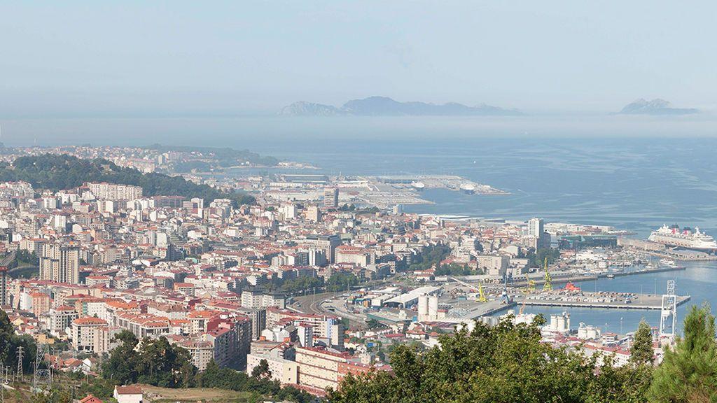 Panorámica de Vigo