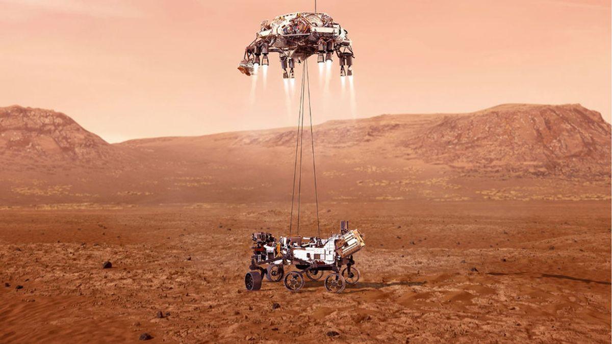 Temperaturas gélidas recibirán la llegada del Perseverance a Marte