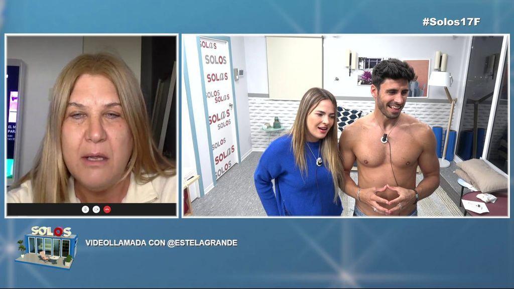 El troleo de la madre de Estela Grande a Marta Peñate y Noel Bayarri