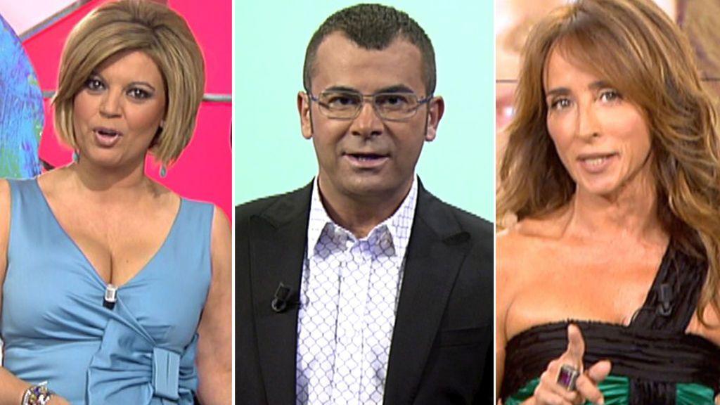 Terelu, Jorge Javier y María Patiño en 'Sábado Deluxe'