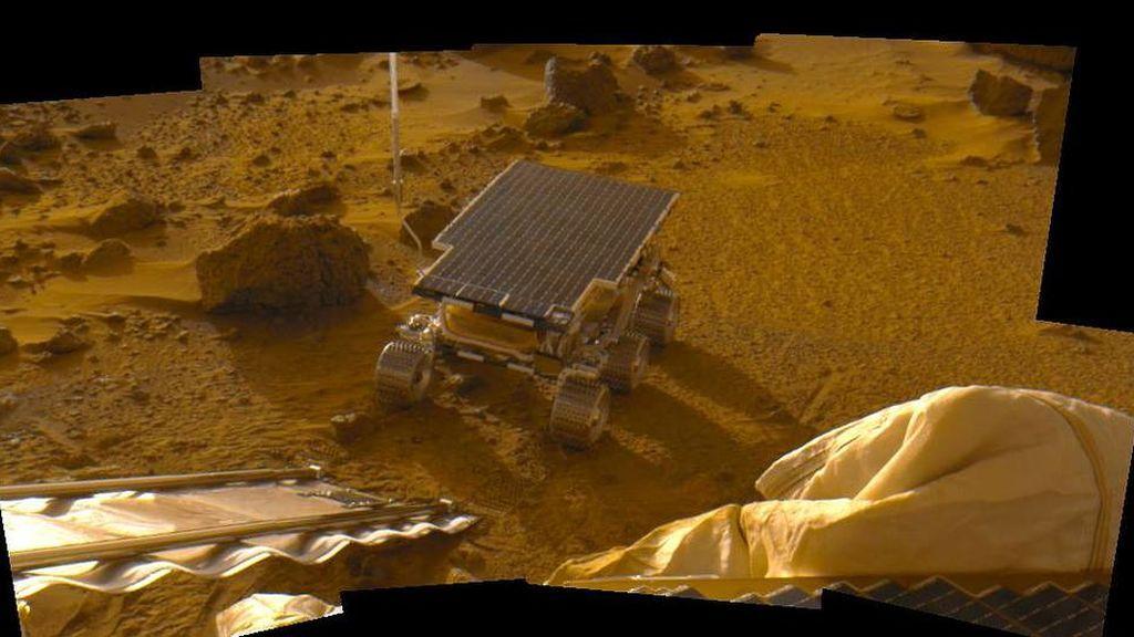 El Sojourner fue el primer rover en Marte