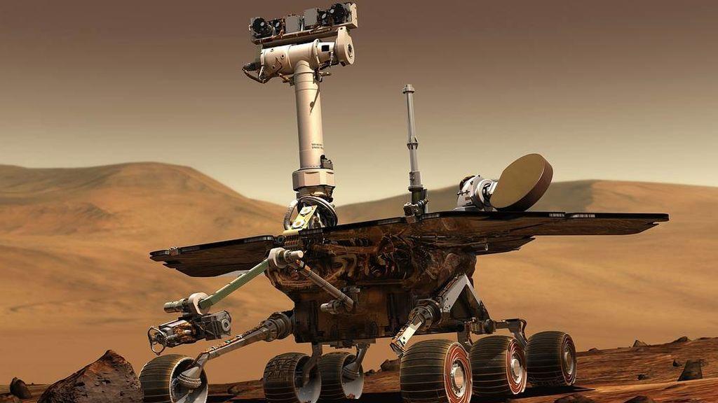 Los rover Spirirt y Opprtunity descubrieron que en Marte hubo agua