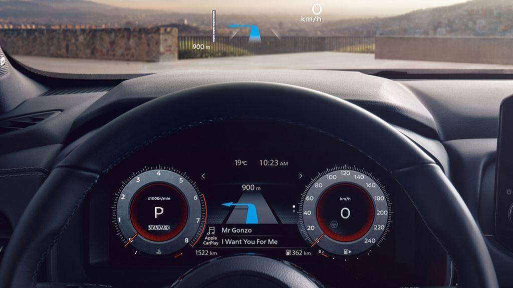 All-New Nissan Qashqai Première Edition - HUD 3-source