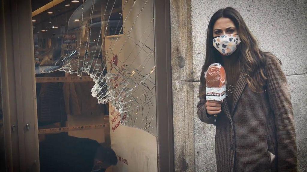Vecinos y comerciantes, indignados tras los disturbios