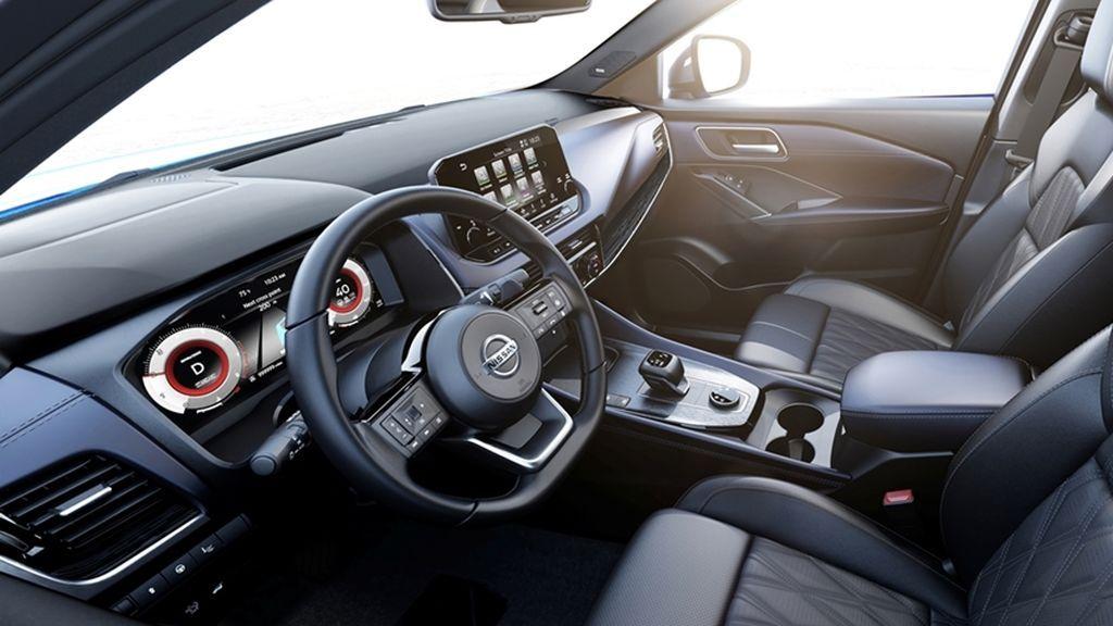 All-New Nissan Qashqai CGI - Interior 2
