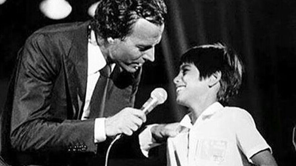 Julio Iglesias e hijo