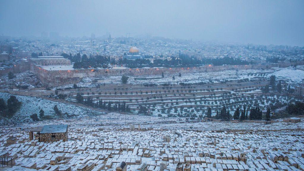 Oriente Medio, de blanco: así están Turquía, Jordania o Siria tras una increíble nevada