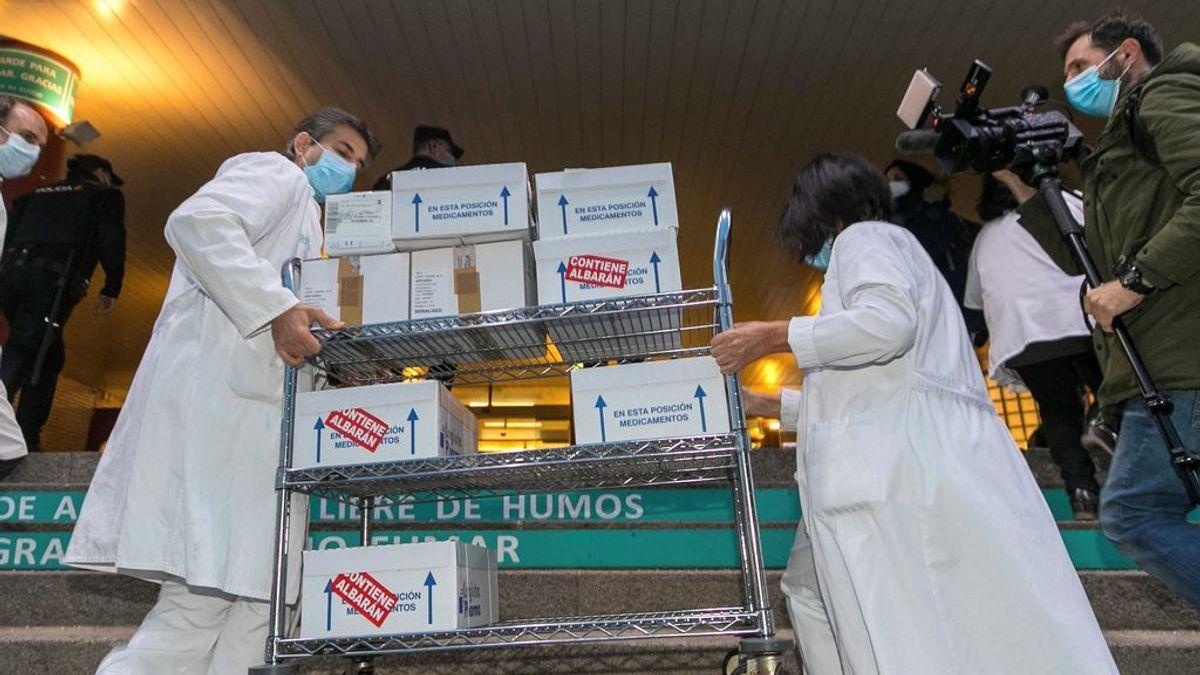 Sanidad confirma que España recibirá entre febrero y marzo 9,7 millones de vacunas