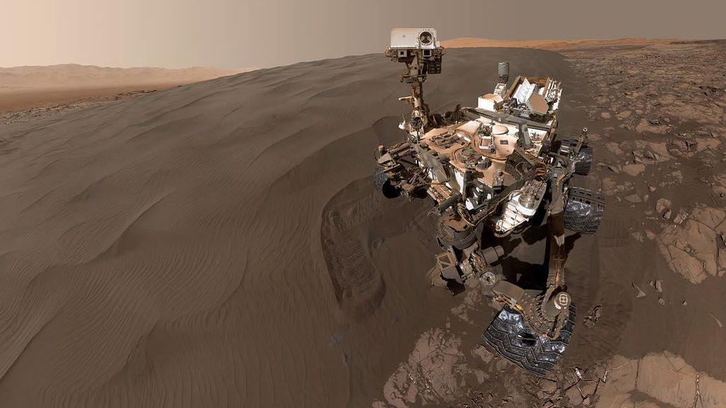 El Curiosity es el rover más grande que recorre la superficie de Marte