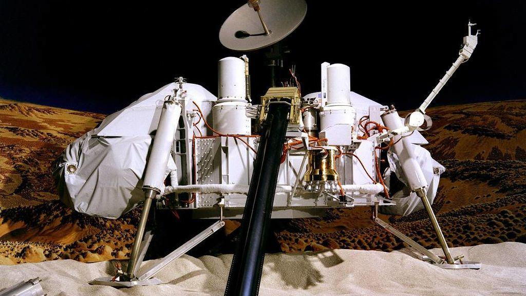 Las misiones Viking fueron el primer éxito en Marte
