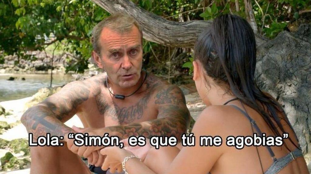 Las redes alucinan con el cambio de actitud de Lola: los mejores memes sobre sus lágrimas por Diego y su pasional acercamiento con Carlos