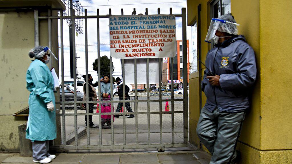 El sector sanitario de Bolivia se pone en huelga contra la Ley de Emergencia Sanitaria de Arce