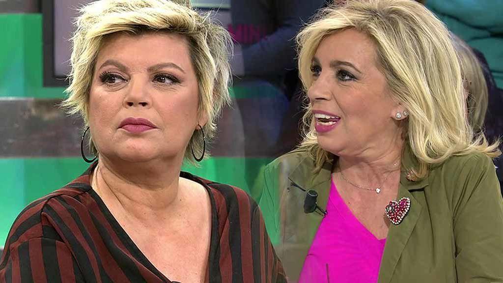 Carmen Borrego no quiere volver y Sálvame le ofrece el puesto a Terelu pero ¿Por qué se fueron las hermanas del programa?