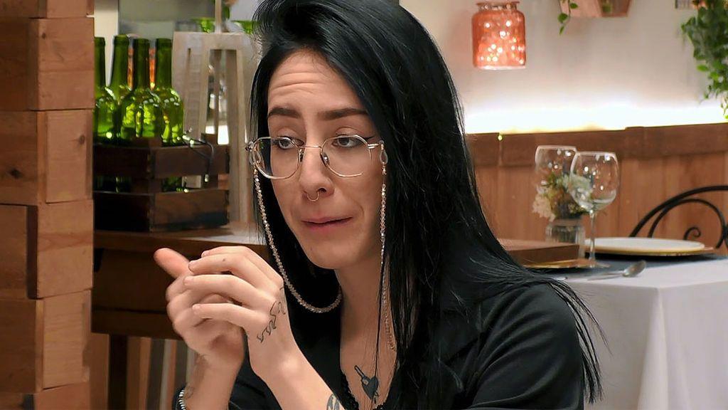 Imagen de Elsa en el programa 'First Dates'