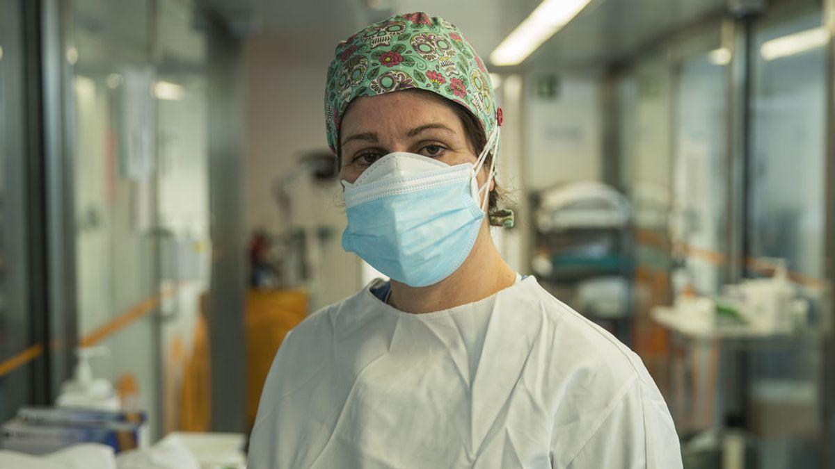 Los contagios en sanitarios se reducen en un 71% en dos semanas