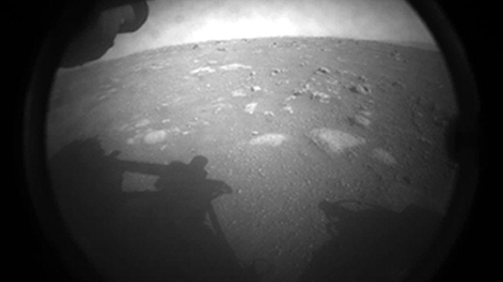 La llegada del Perseverance a Marte en imágenes