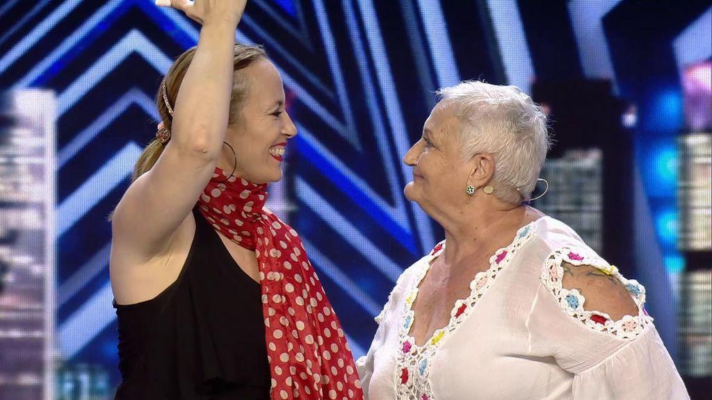 La emocionante actuación flamenca de esta madre y su hija