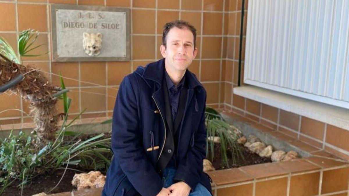 """Rafael Bailón, mejor docente de Secundaria: """"No se puede ser un profesor pegado a un libro. Hay que fomentar la creatividad"""""""