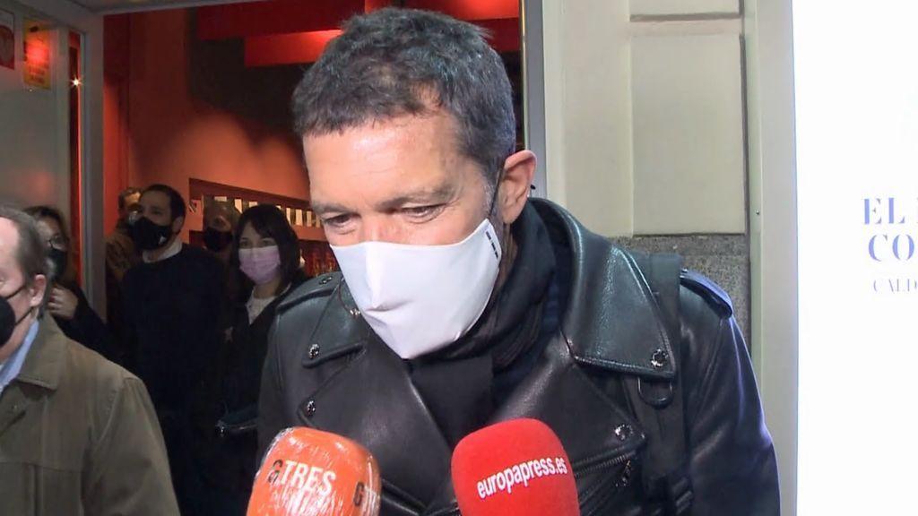 Antonio Banderas manda un claro mensaje a los jóvenes por la pandemia