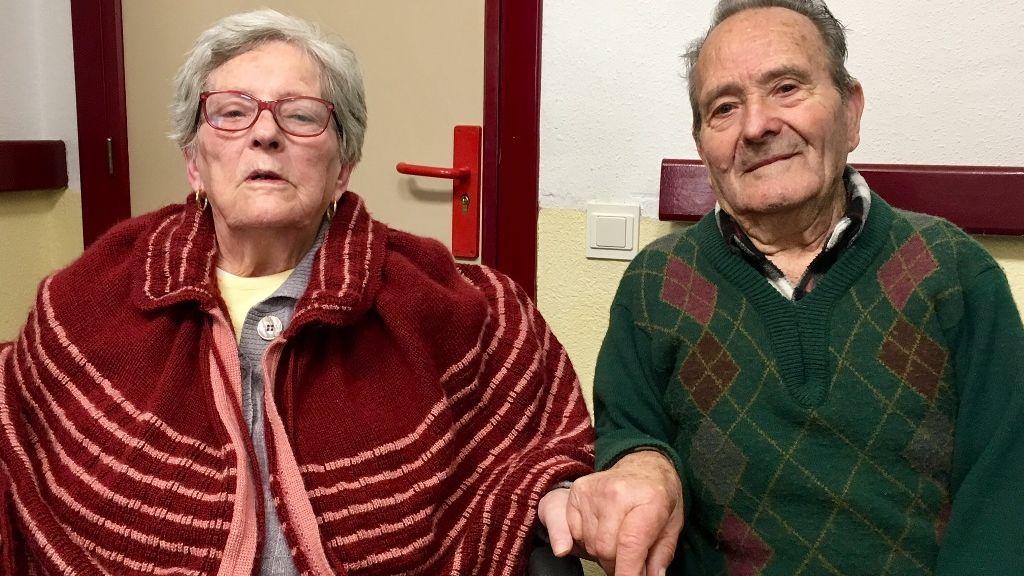 Paco y Concha, un año separados por la pandemia