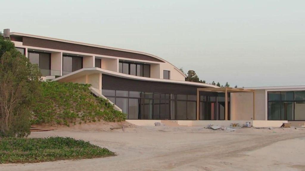 Así es la lujosa casa del rey emérito en Abu Dabi
