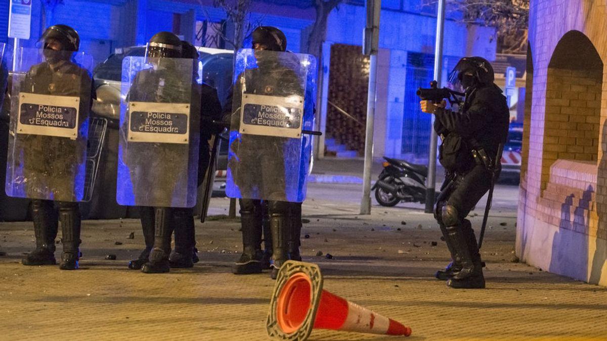 ERC pide investigar la actuación de los Mossos d´Esquadra durante las protestas
