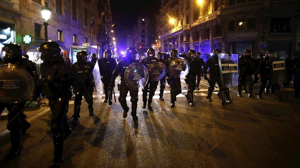 Última hora de las protestas en Madrid y Barcelona por el encarcelamiento de Hasél