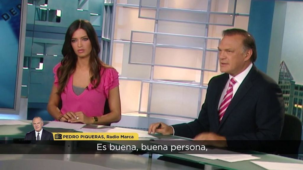 El tierno mensaje de Piqueras a Sara Carbonero