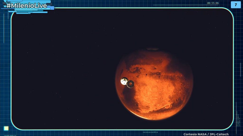 Las pruebas que demostrarían la aparición de líquenes en las naves enviadas a Marte