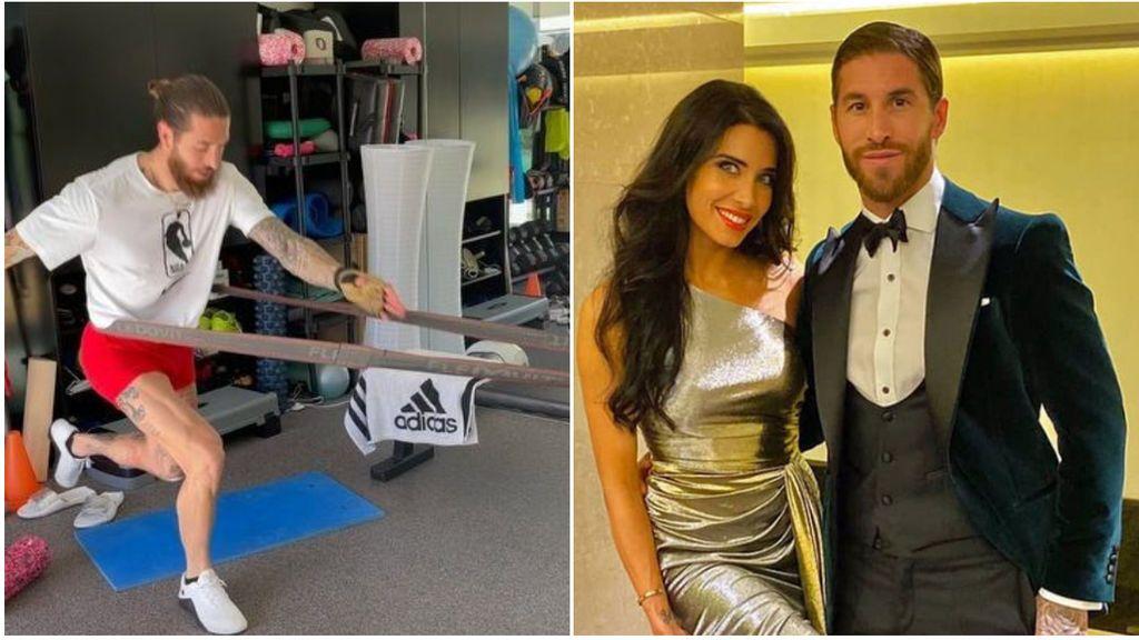 Sergio Ramos se machaca para recuperarse rodeado de lujo: tecnología domótica, piscina climatizada y 20 cuartos de baños