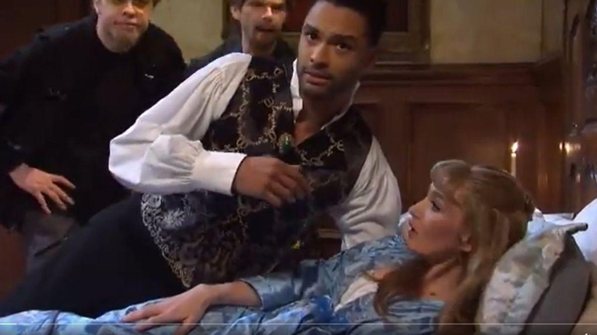 Regé-Jean Page, en 'Saturday Night Live'