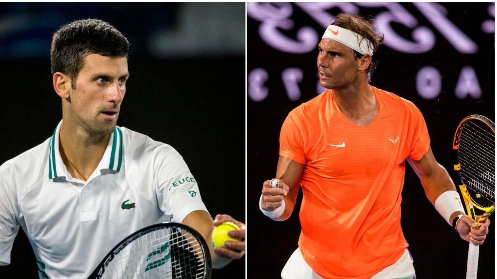 """Djokovic responde a las críticas de Nadal por dudar de su lesión: """"He jugado con una rotura muscular en el abdominal y he ganado"""""""