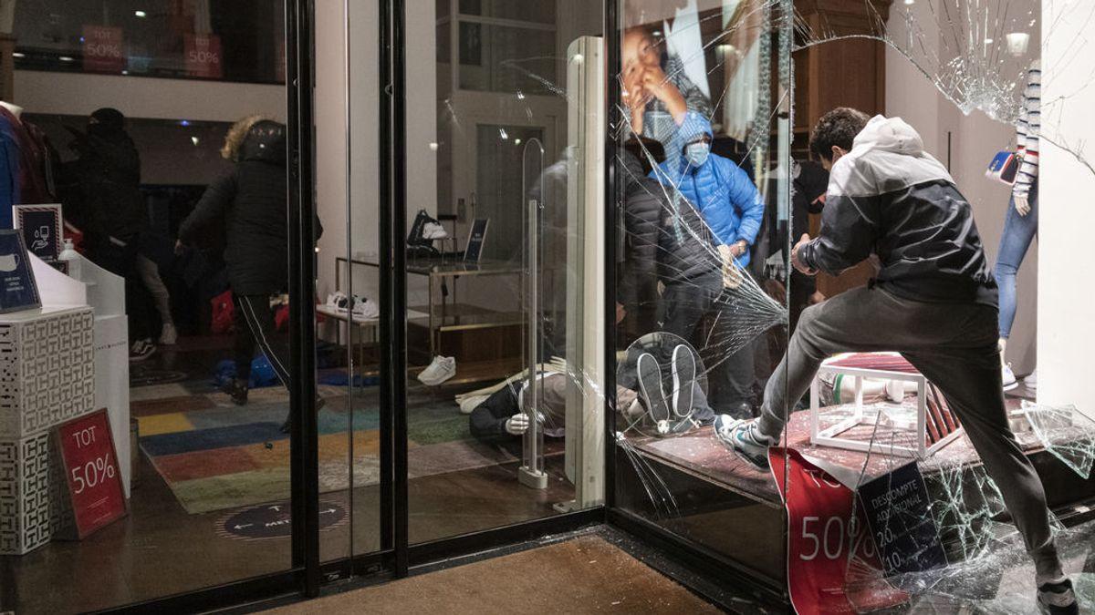 El perfil de los detenidos en los disturbios de Barcelona