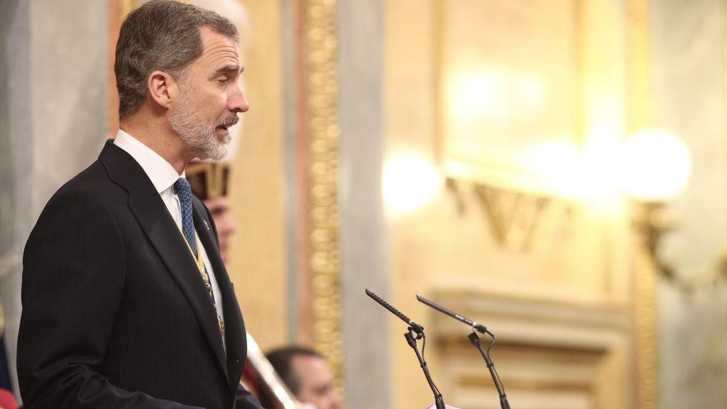 Los partidos independentistas y el PNV plantarán a Felipe VI en el acto del Congreso por el 23-F