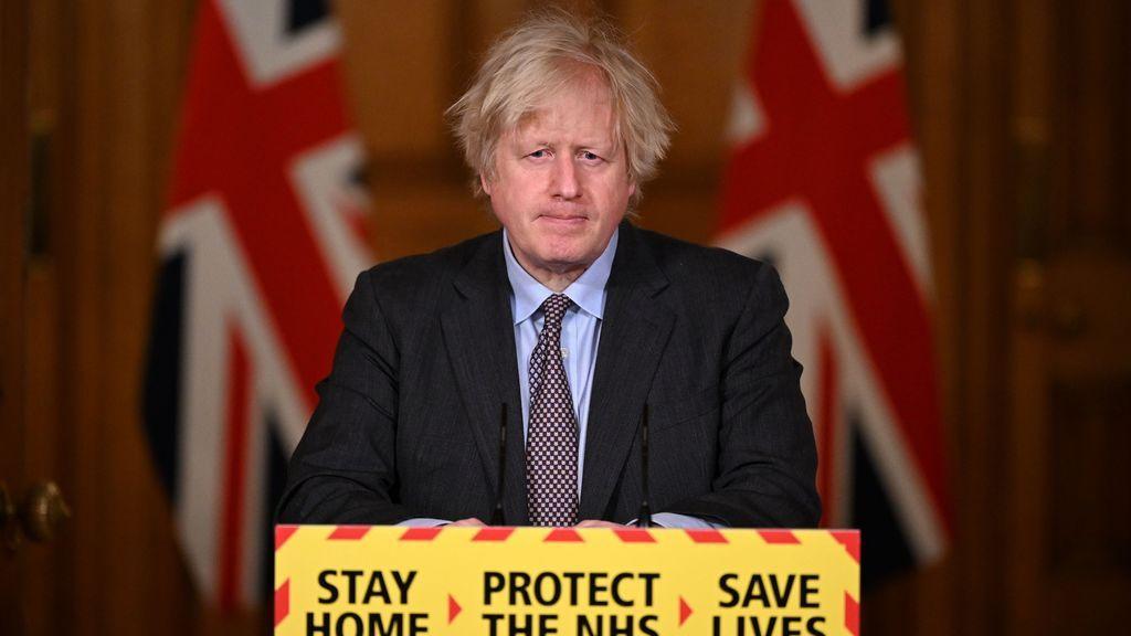 Johnson anuncia una lenta desescalada que culminará a finales de junio