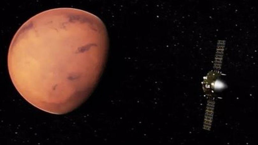 La vida terrestre microbiana podría sobrevivir en Marte