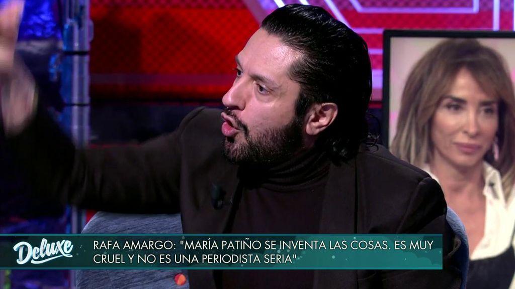 Rafael Amargo ataca a María Patiño