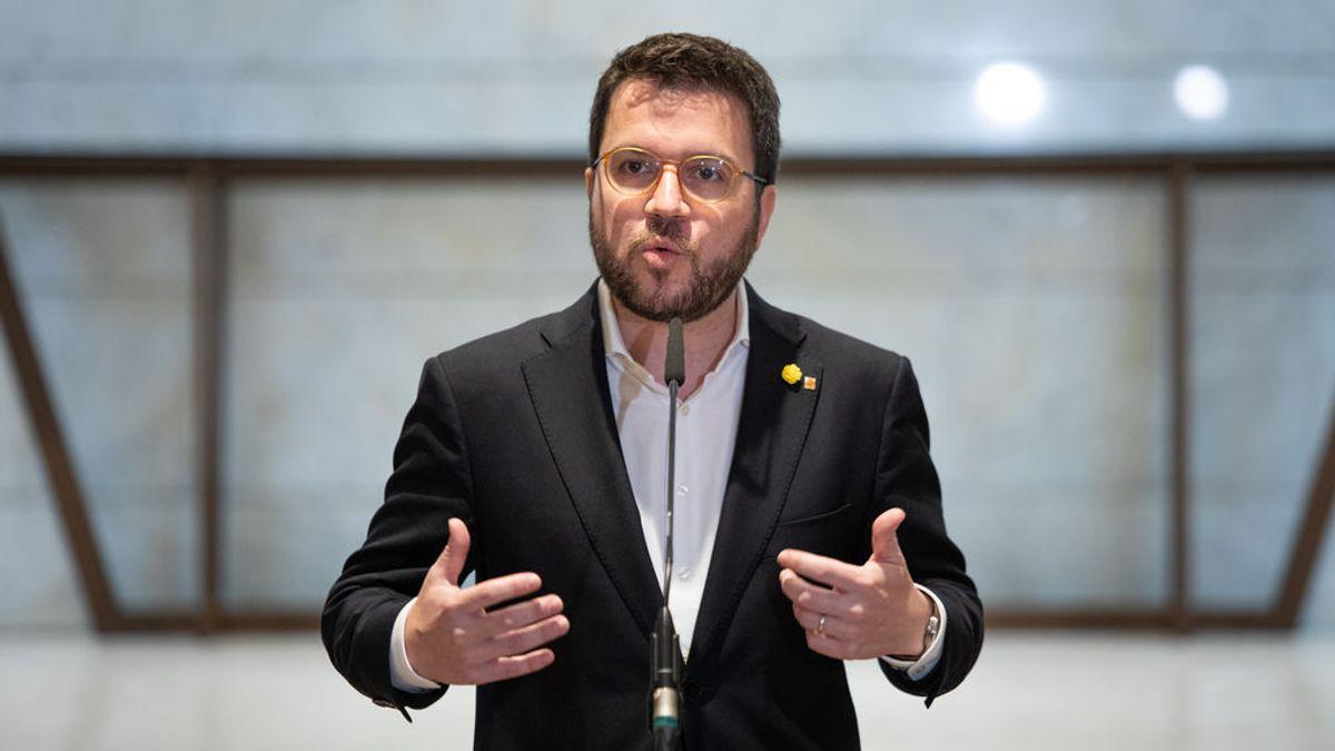Aragonès apoya a los Mossos y plantea llevar al Parlament el debate sobre el modelo policial
