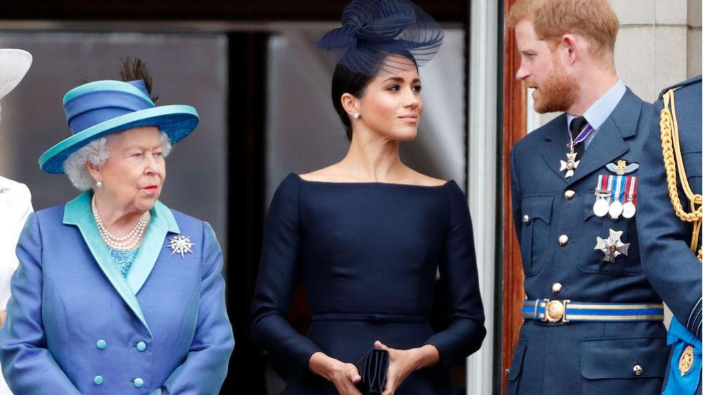 La reina Isabel de Inglaterra 'contraprograma' la entrevista del príncipe Harry y Meghan con Oprah Winfrey
