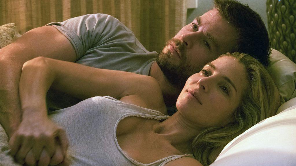 Elsa Pataky y Chris Hemsworth, en la película '12 strong'
