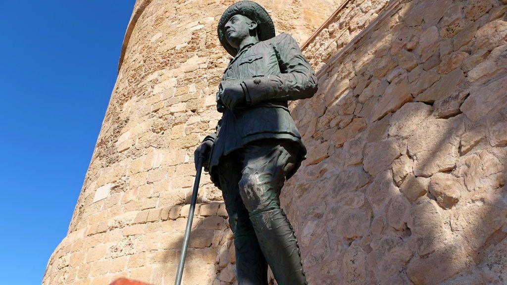 Melilla retirará la última estatua de Franco que hay en España