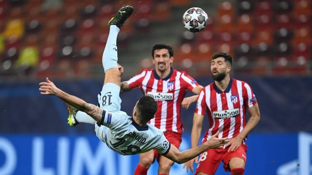 El Atleti cae derrotado ante el Chelsea en Bucarest (0-1)