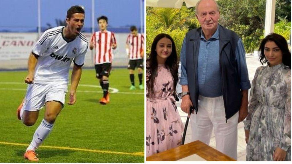 El ex jugador del Real Madrid que es vecino del rey emérito